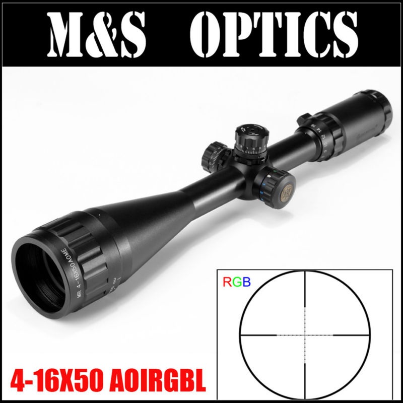 Special offer! MARCOOL EST 4-16X50 AOIRGBL Mil Dot Reticle Airsoft Air Guns Optics Sight Hunting Riflescope For Rifles Gun marcool 4 16x50 aoirgbl optical aim collimator sight luneta para airsoft air guns rifle scope weapons red dot for hunting