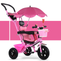 Fashion New Baby Children Tricycle Sunshade Awning Baby Umbrella Car 1-6 Years Old Child Kids Bicycle Baby Stroller 3 in 1