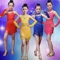 Child Children Ballet Latin Dance Dress For Girls Samba Dress Dancing Dress Girl Dancewear Kid Costume School Latino Student