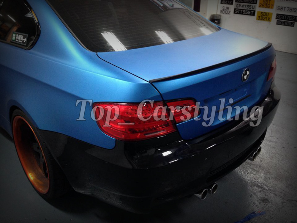 PEARL MATTE BLUE CAR WRAPPING FILM WRAPPING FOIL (3)