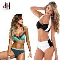 DA HAI Brand 2017 Hot Ontwerp Badmode Vrouwen Bikini Sexy Thong Onderkant Badpak Push Up Braziliaanse