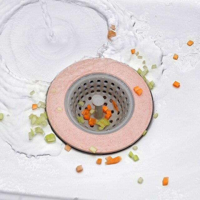 Aliexpress.com : Buy Silicone Kitchen Sink Strainer Bathroom ...
