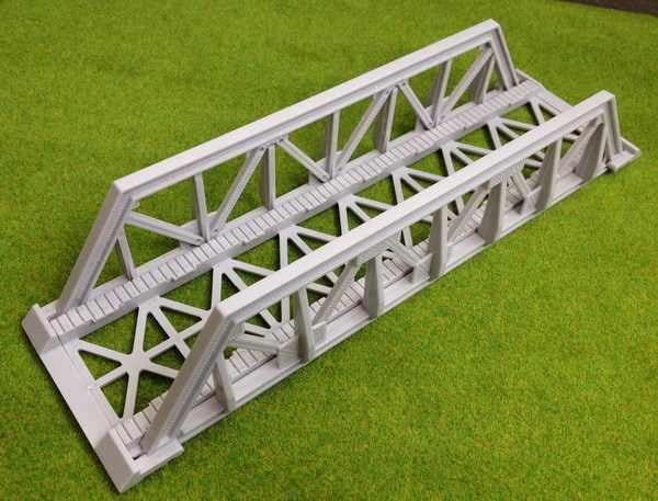 QL003 1 set Model Train Railway Truss Girder Bridge Accessories for TOMY  Thomas 1:87 HO OO Scale NEW Miniature
