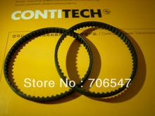 Free Shipping10pcs 124 GT2 6 3d printer belt closed loop rubber 2GT timing belt 124 GT2