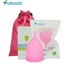 Furuize Lady Cup Copa Menstrual reusable period cup Feminine Hygiene reusable Menstrual Cup 100%Medical Grade silicone Women Cup