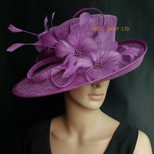 c01a7d218 Buy purple church hats and get free shipping on AliExpress.com