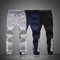 2016 Nuevos Hombres de La Raya de Algodón Rubchinskiy Pantalón Pantalones Casuales Pantalones Culturismo Gimnasio Sweat harem yeezy Bragas B0115