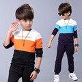 2017 meninos roupas definir crianças terno do esporte roupa das crianças crianças roupas menino definir ternos ternos para meninos outono inverno crianças treino