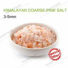 3-5mm HIMALAYAN COARSE CRYSTAL PINK SALT GOURMET KOSHER NATURAL PURE 50grams