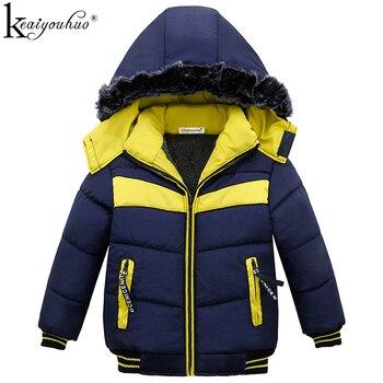 3e7bc3602 KEAIYOUHUO invierno niños abrigo ropa de niños de manga larga abrigos para  niñas prendas de vestir exteriores con cremallera con capucha chaquetas para  ...
