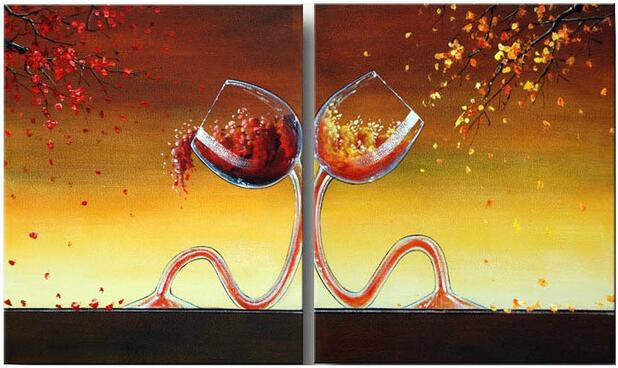 compare prices on wine art canvas- online shopping/buy low price