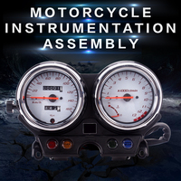 New instrument assembly gauges meter cluster speedometer odometer tachometer for Honda VTR250 VTR 250 2004 2005 2006 2007 04 07