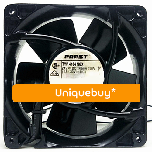 3line 3.5W for ebmpapst Aluminum frame TYP 4184NGX 24V cooling fan