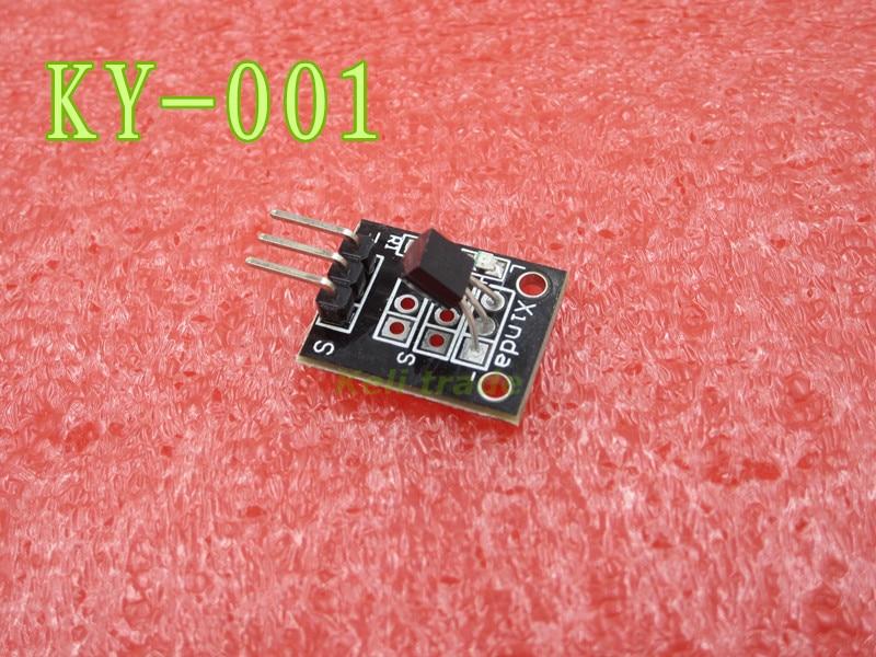 Smart Electronics 10pcs/lot KEYES KY-001 3pin DS18B20 Temperature Measurement <font><b>Sensor</b></font> <font><b>Module</b></font> for Arduino <font><b>Diy</b></font> Starter Kit KY001