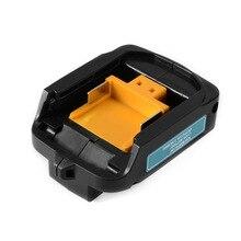 USB Power Carregamento Carregador Adaptador Conversor para MAKITA BL1430 BL1415 ADP05 BL1445 BL1845 BL1815 BL1830 Li-ion de Carga Da Bateria