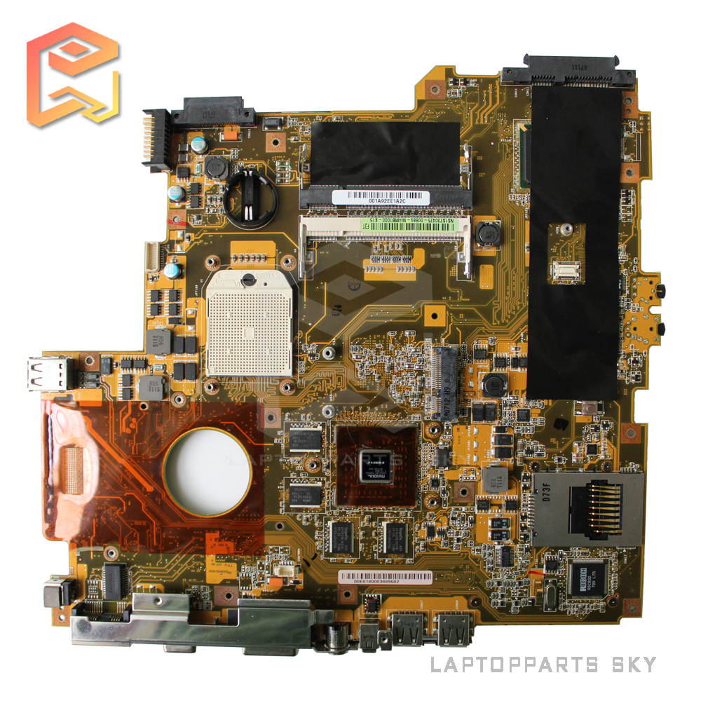 Stock laptop motherboard for asus F3T F3TC REV:2.2 fully tested and work well for msi ms 10371 intel laptop motherboard mainboard fully tested works well