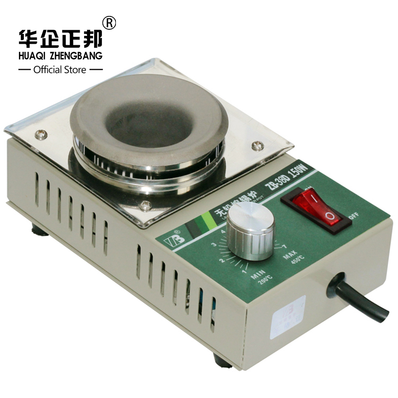 Best Price Mini Solder Pot Desoldering Bath Titanium Plate 38mm 220V 150W Electric Soldering Pot