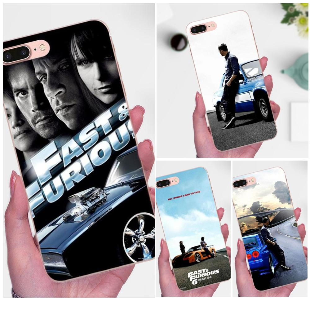 Silicone Case For Galaxy A3 A5 A7 On5 On7 2015 2016 2017 Grand Alpha G850 Core2 Prime S2 I9082 Fast And Furious Moive 7 image
