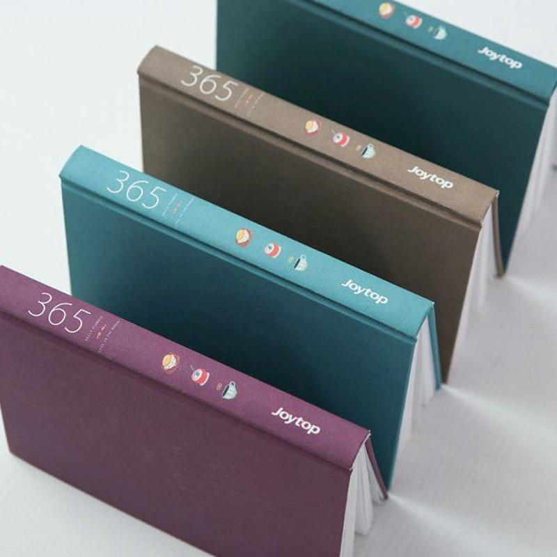 Notebooks 365 Tage Persönliche Tagebuch Planer Hardcover Notebook Tagebuch 2018 Bürowochen Zeitplan Nette Koreanische Briefpapier Libretas Y Cuadernos