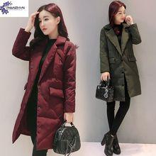 TNLNZHYN женская одежда Зима Новая Мода Большой ярдов Женский хлопок пальто Куртки Сгущает нагрудные с длинным рукавом теплая Куртка Ct035