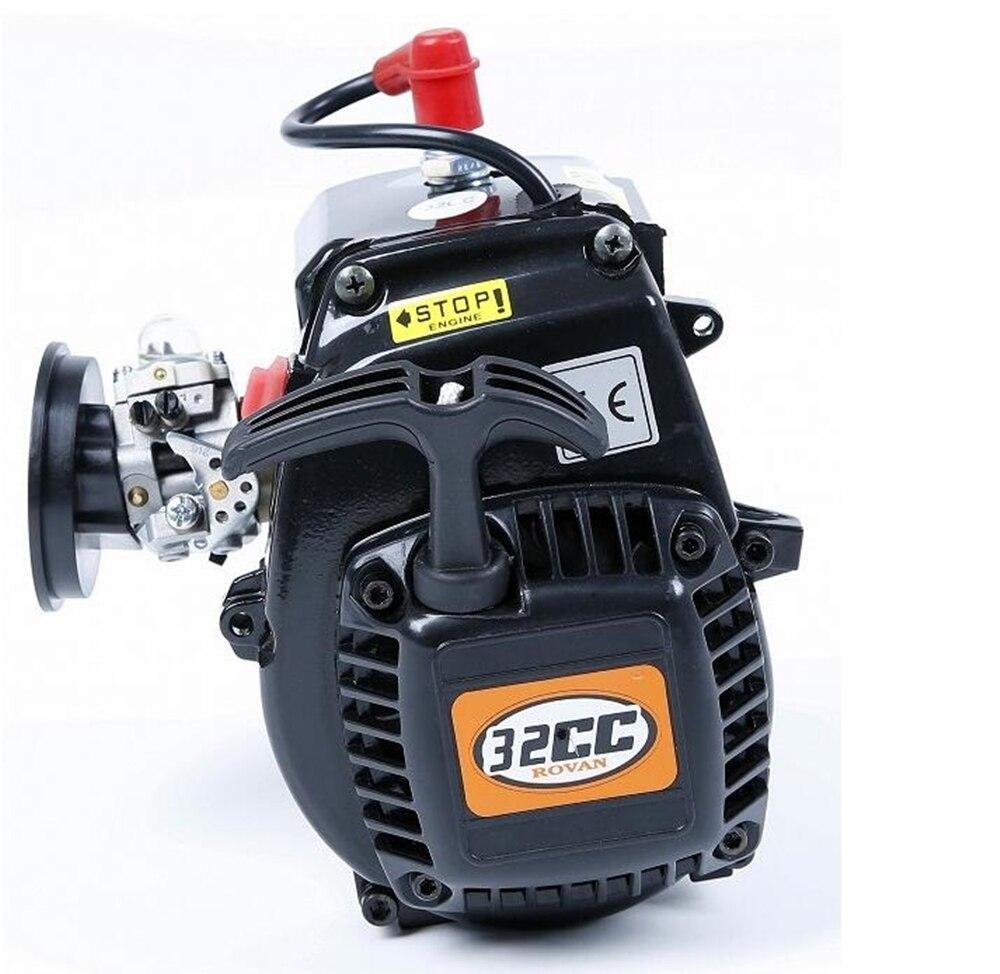Moteur à essence Rc car 32cc avec carburateur wt1107 walbro pour camion télécommandé 1/5 échelle HPI racing 5B 5 T 5SC LOSI MCD
