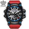 SMAEL Watches Men's Sports Military Dual Display Watch Men Analog Digital Electronic Quartz Watch Waterproof Relogio Masculino