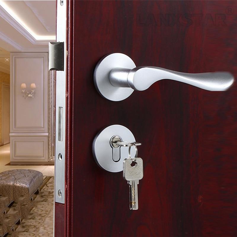 Modern Door Lock Hardware compare prices on aluminium door lock- online shopping/buy low
