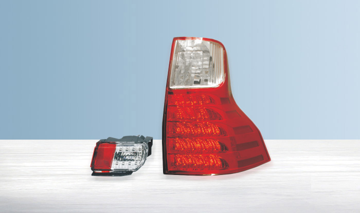 2011-up for Toyota PRADO FJ150 Car Lights LED Tail lights Assembly Ensure quality and fitment Rearlights Backup