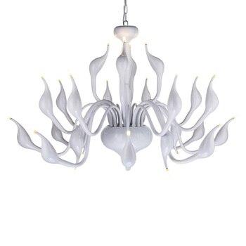 Swan Chandelier Light European LED Swan Candle Chandeliers Art Deco esign swan Chandelier Lighting for loft G4 LED Bulbs