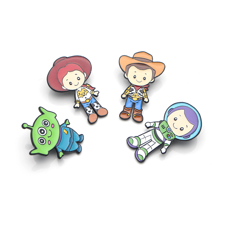 K88 Cartoon The Film Metal Enamel Pins and Brooches for Women Men Lapel Pin Badge Denim Brooch Collar Jewelry 1pcs in Brooches from Jewelry Accessories