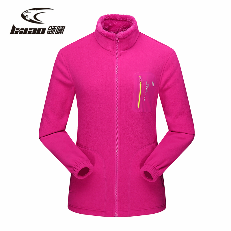 LXIAO High Quality Women Softshell Jacket Outdoor Thermal Fleece Windbreaker Female Winter Coats