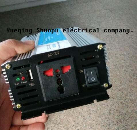high quality 300w Pure Sine Wave Power Inverter 12VDC to 220VAC dc 12v to ac 220v