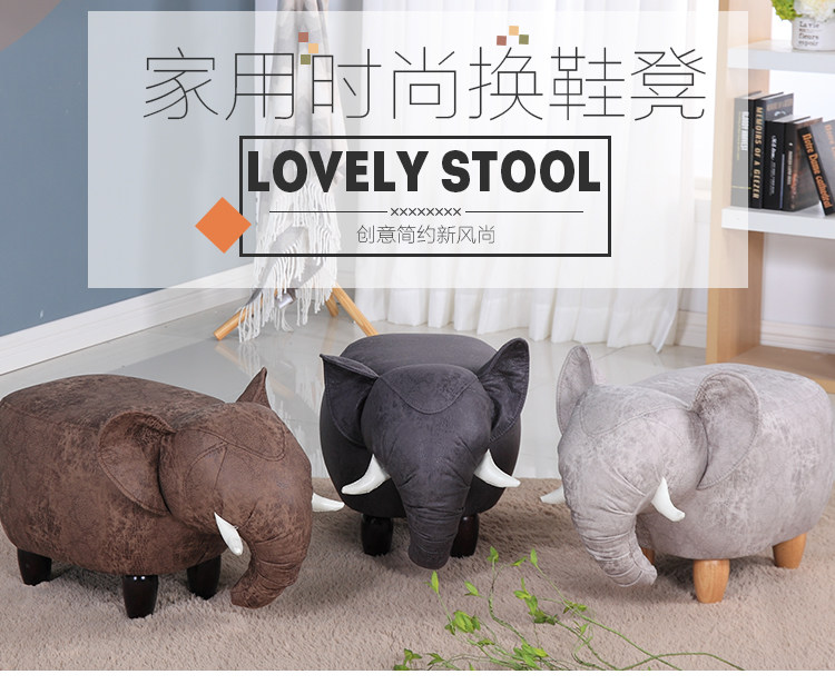 цена на Cloth shoe stool solid wood living room sofa stool modern simple sitting pier creative wear shoes stool children stool