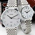 Новое поступление любители часы LONGBO бренд водонепроницаемость стали часы, Мода подарки кварцевые часы, Бесплатная доставка прямая поставка