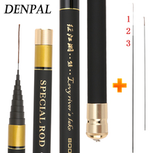 купить 2019 Power Hand Pole Fishing Rod Ultra Hard Super Light Extra Long High Carbon 8/9/10/11/12/13M Telescopic Rod Stick Spare Tip по цене 1484.99 рублей