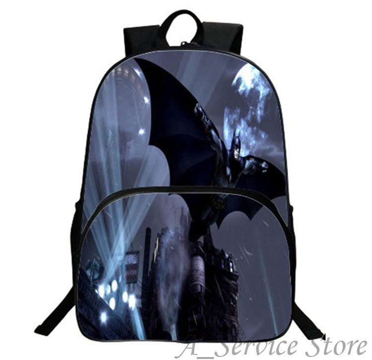Batman Backpack School Backpack Daily Backpack Teens Boys Girls Batman Bruce School Bags Gift Bag