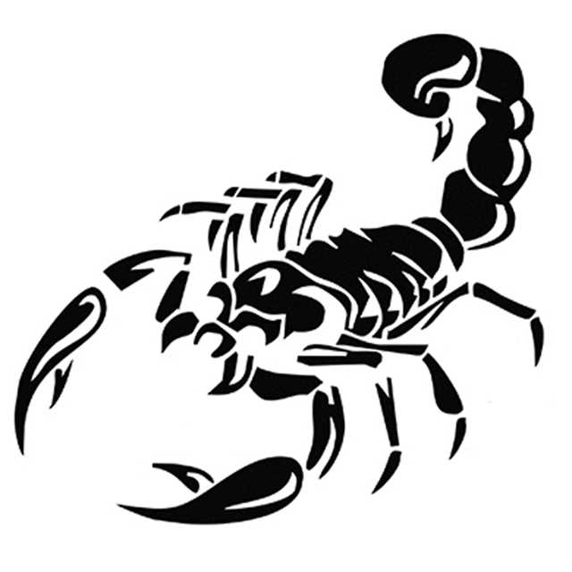 Cool Scorpion Car Sticker High Quality Waterproof Auto Decals For