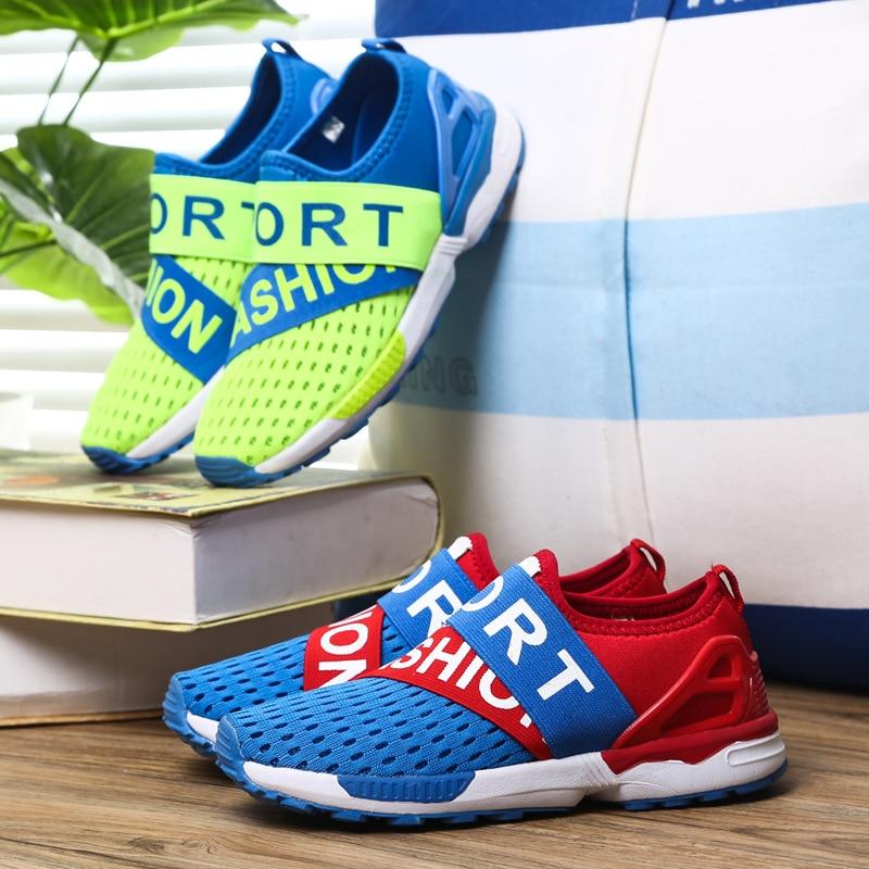 US $19.96 |Kinder Turnschuhe für Jungen Sport Schule Schuhe Weiche Turnschuhe für Mädchen Sommer Atmungsaktives Sneaker Kinder Freizeitschuhe 619 in