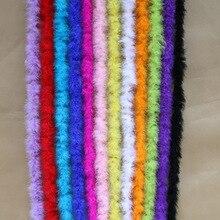 Вечерние разноцветные поделки для пошива швейных изделий полоса пушистая одежда с боа аксессуары с днем рождения предложение свадебных декоров