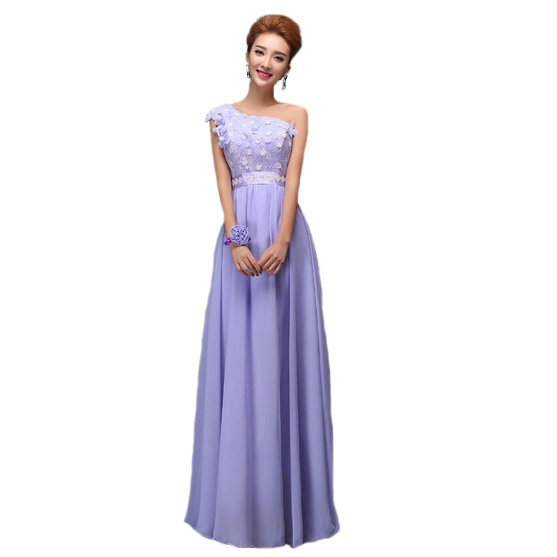 Detail Feedback Questions about Light Purple Bridesmaid Dresses 2016 Bow  Lace Chiffon Vestido De Festa De Casamento Slim Strapless Long Wedding  Party Dress ... 2e364d4ae3a3