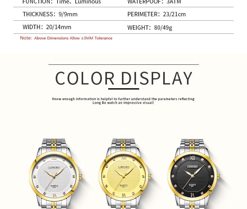 de pulso de quartzo relógios de luxo