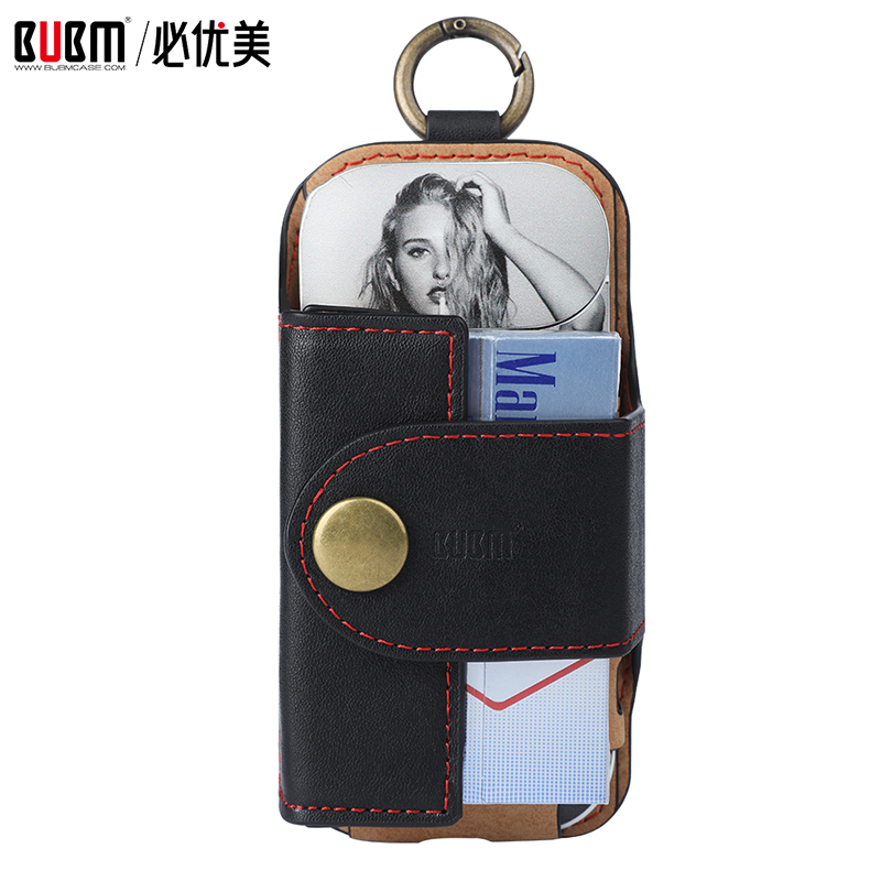 BUBM Bag For Electronic Cigarette Case For IQOS Storage Organizer For Electronic Cigarette Protection Cover