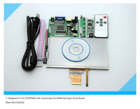 7 Raspberry Pi LCD Touch Screen Display TFT Monitor AT070TN90 With Touchscreen Kit HDMI VGA Input