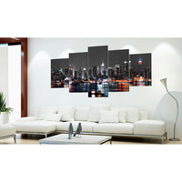 City night scene Diamond Embroidery Living Room Decor Multi Collages Full Square Diamond Painting Cross Stitch Gift DIY 5psc gx