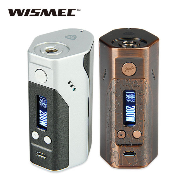 original 200w wismec reuleaux dna200 tc mod by dna 200 technology