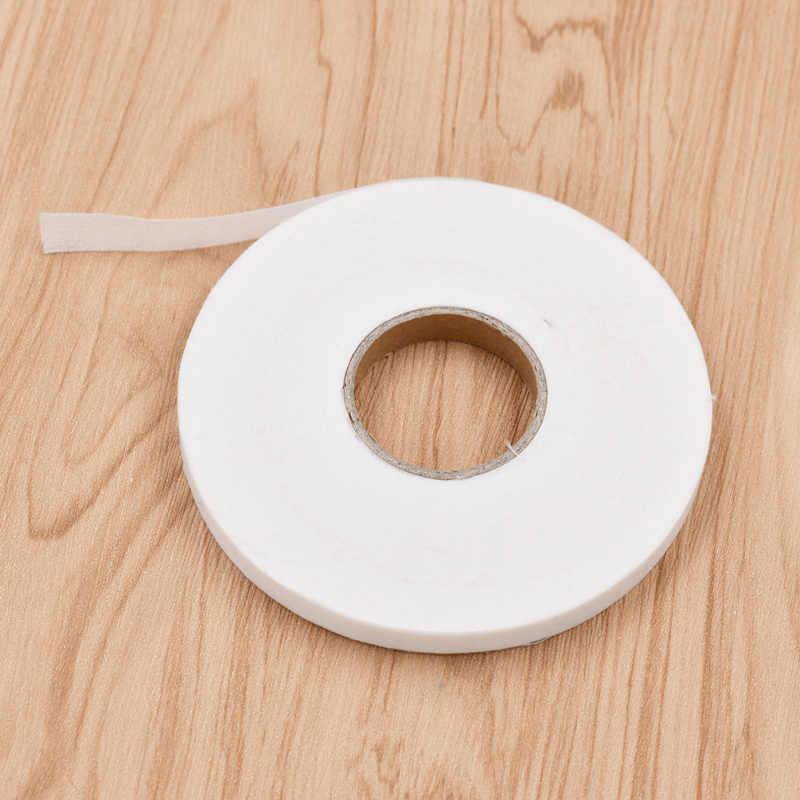 50m Double-sided Adhesive Iron on Interlining Tape Fabric for DIY Craft Clothing