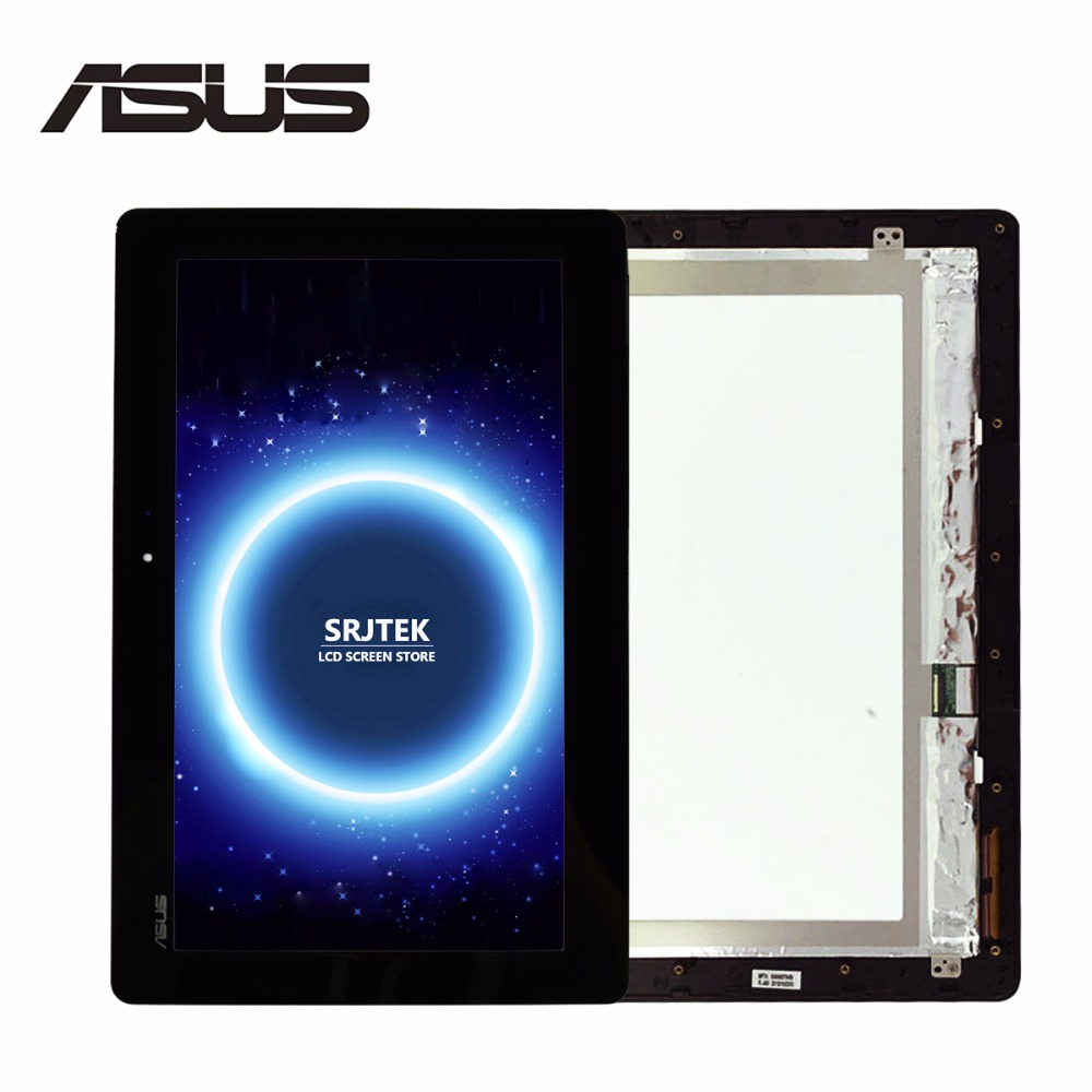 For ASUS Transformer Book T1Chi T100Chi T100 Chi T100TA-C1-GR LCD Display Touch Screen Assembly with Frame FP-TPAY10104A-02X-H black full lcd display touch screen digitizer replacement for asus transformer book t100h