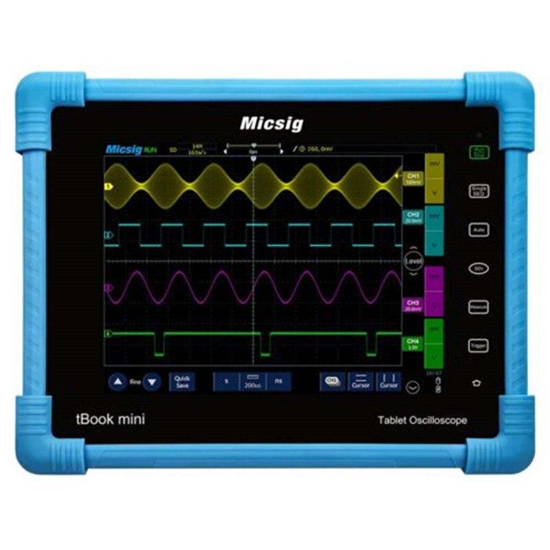 Micsig Digital Oscilloscope TO1104 100MHz 4CH 28Mpts portable oscilloscopes Automotive touchscreen diagnostic oscilloscope