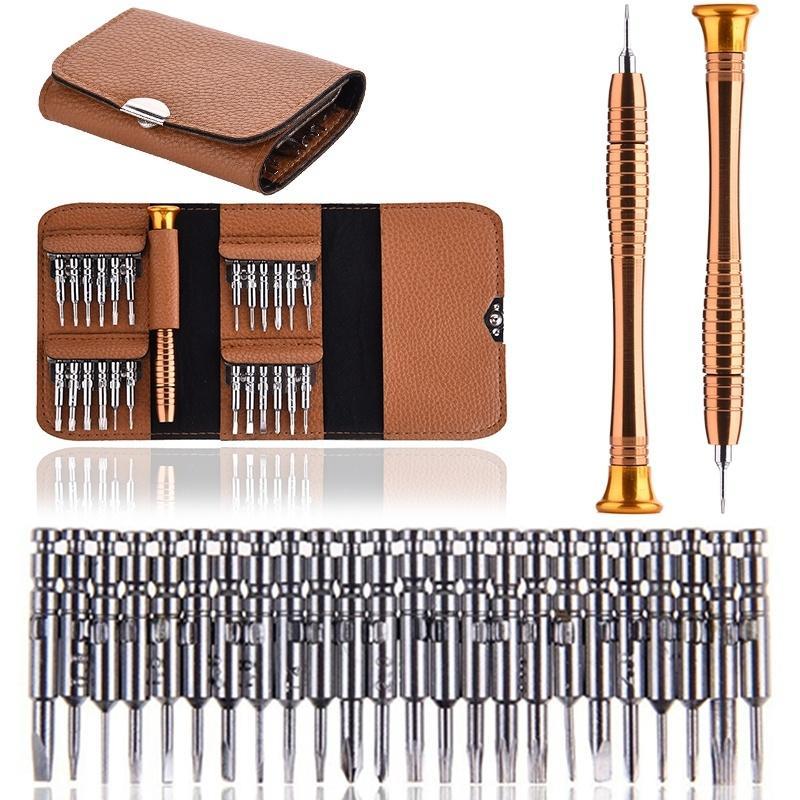 Набор прецизионных мини-отверток 25 в 1, набор инструментов для ремонта отверток Torx для iPhone, камеры, часов, планшетных ПК