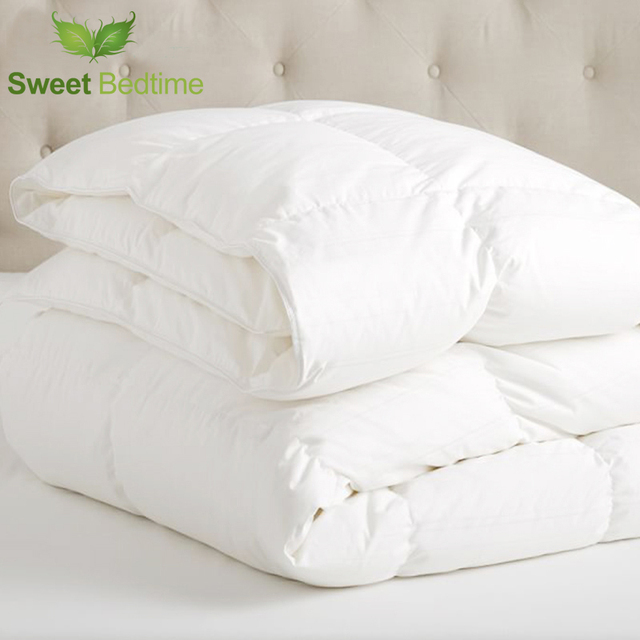15 Tog Winter Comforter Inserts Double Warm Quilt Core European Sizes Queen King Duvet Inner White